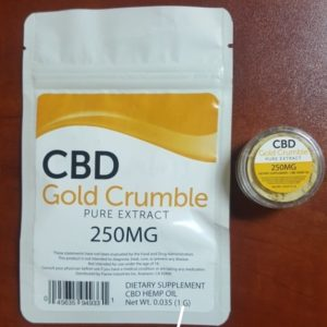 100 GRAMS CBD POWDER EXTRACT