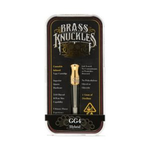 Gorilla Glue Brass Knuckles