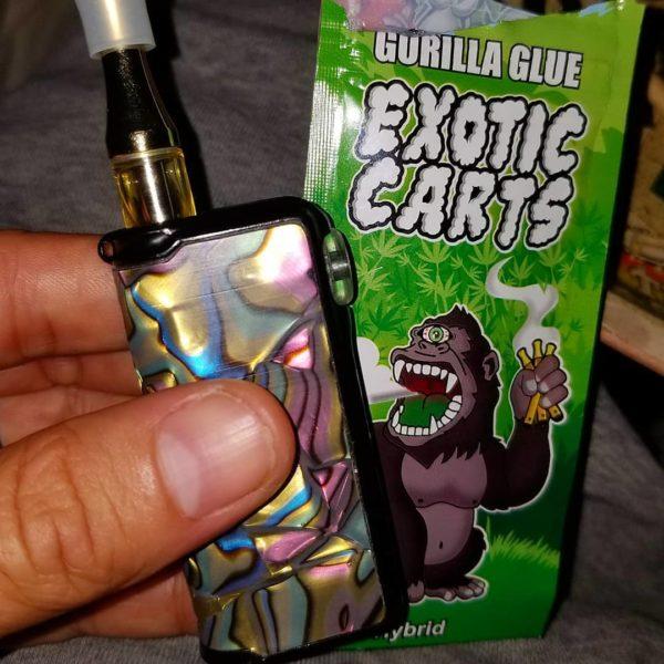 gorilla glue exotic carts