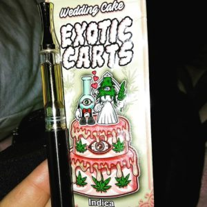 wedding cake exotic carts