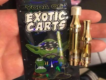 yoda og exotic carts